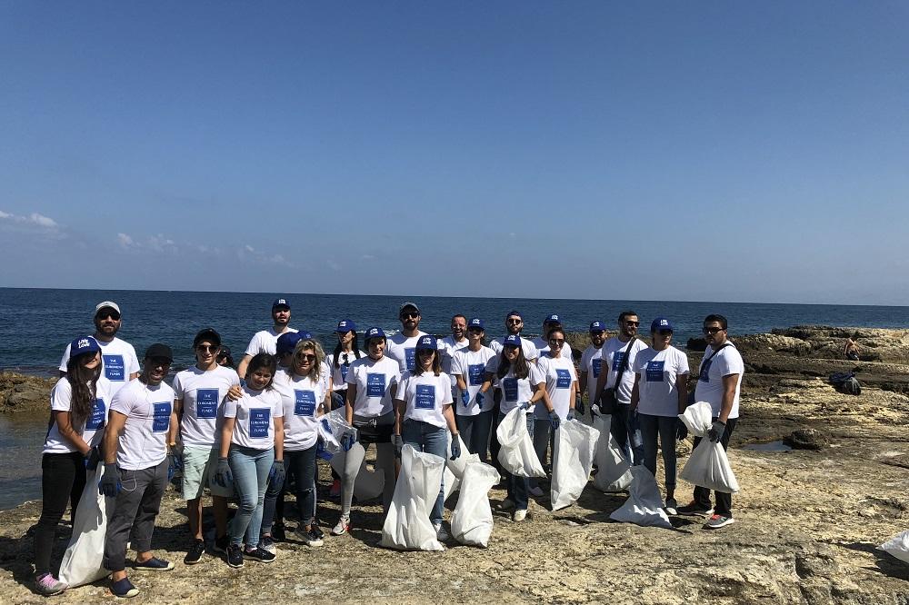 Live Love Beirut and The EuroMena Funds joined hands on World Cleanup Day 2018 for a cleaner Lebanon